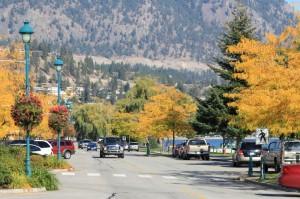 Осень в Peachland